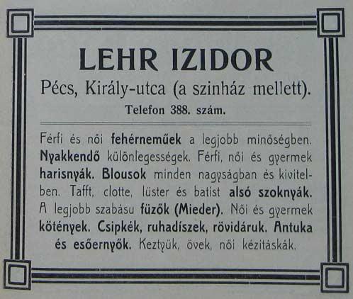 lehr-izidor