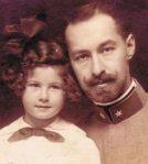A szerző lányával, Rózsával.