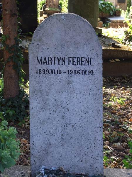 martyn-sírja