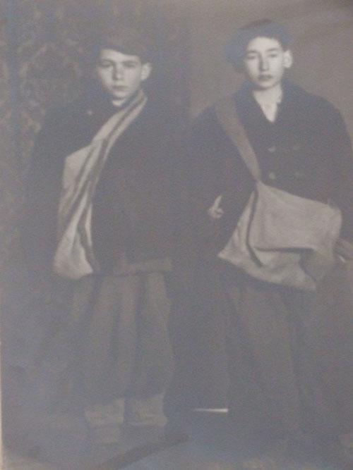 Somogyi Tamás és Somogyi László - 1945