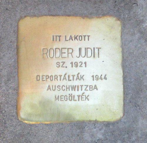 Roder-stolperstein