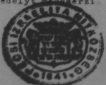 Alul középen: 1841