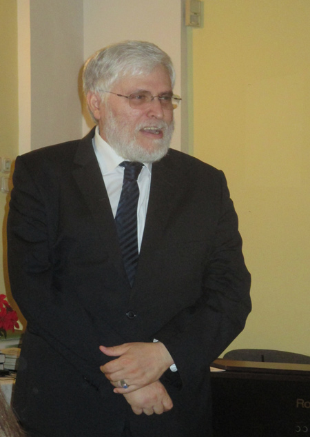 Schönberger András, főrabbi
